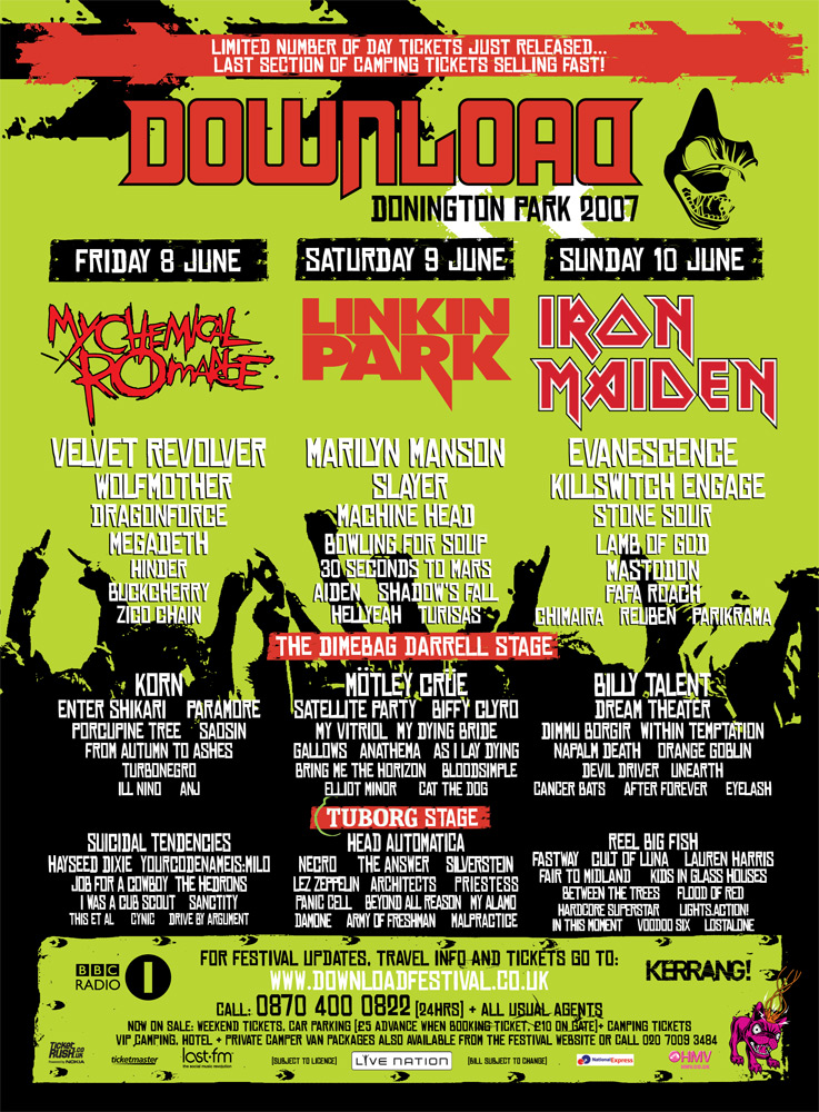 Download Festival 2007