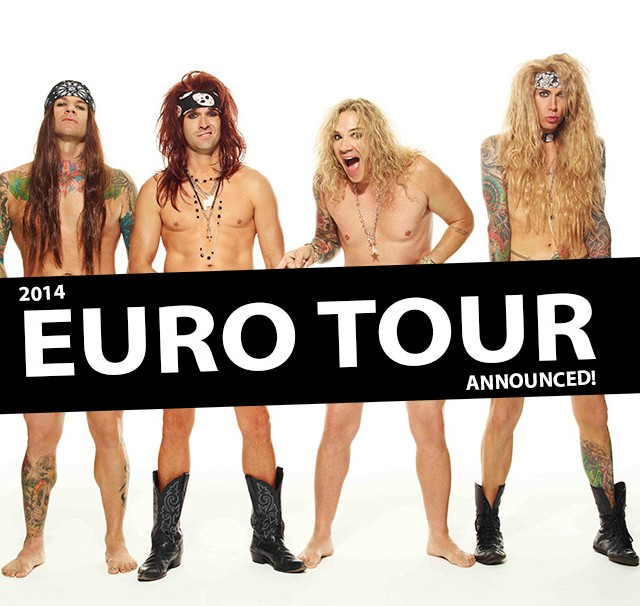 Steel Panther Tour 2014