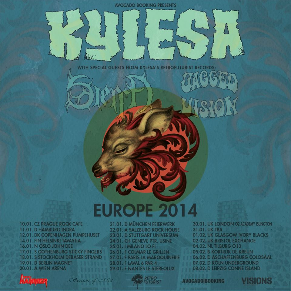 Kylesa - European Tour 2014