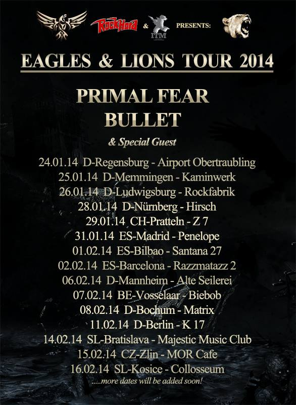 Eagles & Lions Tour 2014