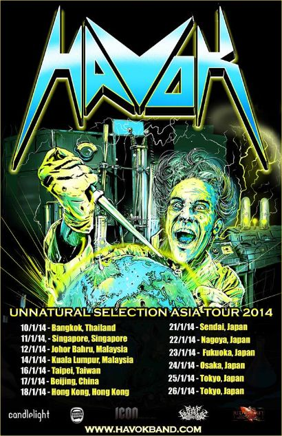 Havok Asian Tour 2014