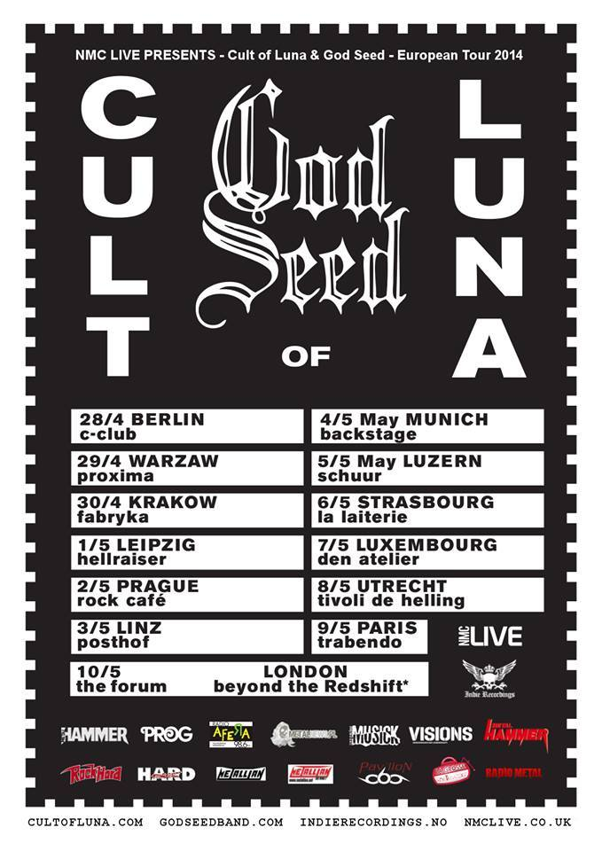 Cult of Luna + God Seed