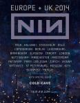 Nine Inch Nails Europe 2014