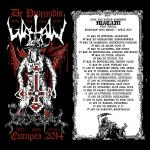 Watain - European Tour 2014