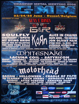Graspop Metal Meeting 2006