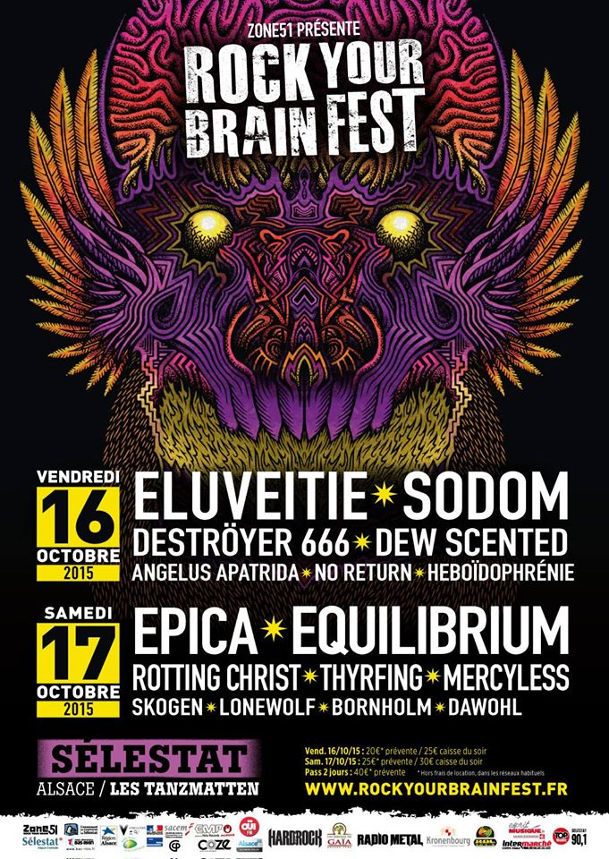 Rock Your Brain Fest 2015