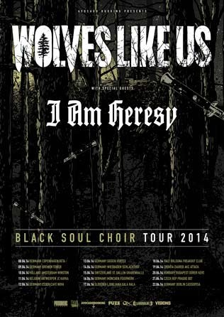 Black Soul Choir Tour 2014