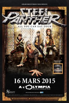 Steel Panther - Tour 2015