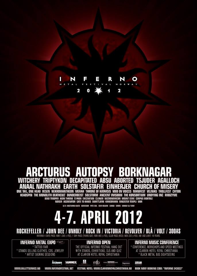 Inferno Metal Festival 2012