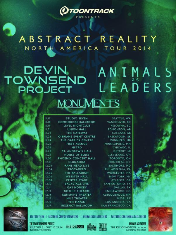 Abstract Reality Tour 2014