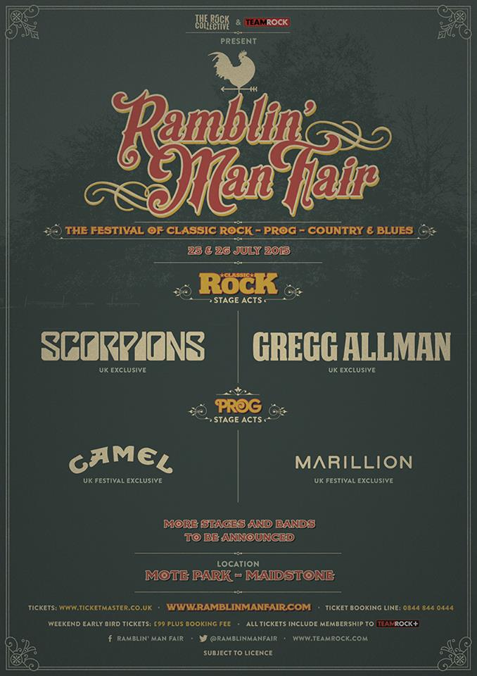 Ramblin' Man Fair 2015