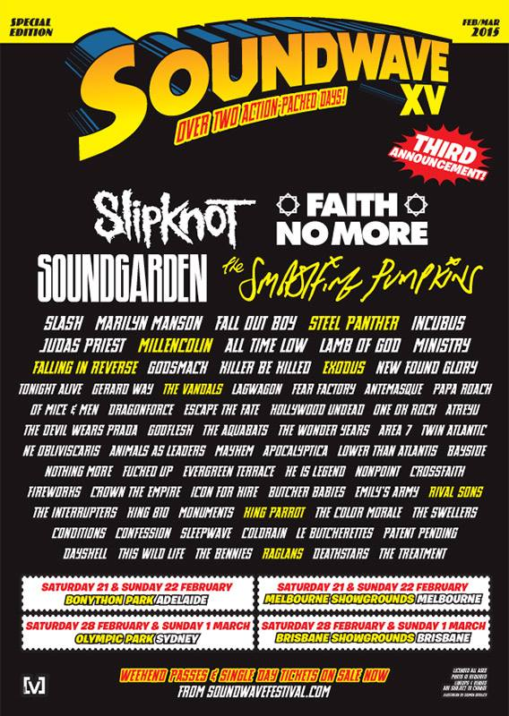 Soundwave Festival 2015