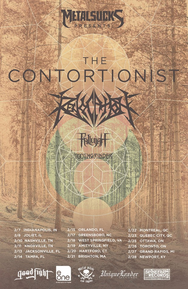 The Contortionist Tour 2015