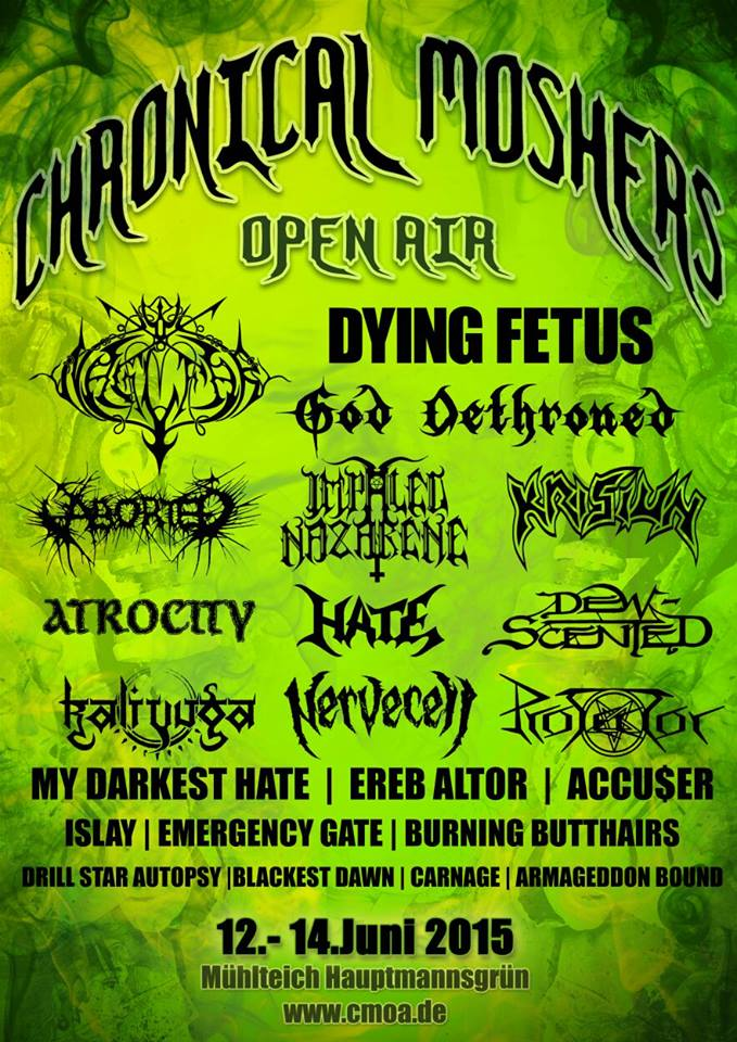 Chronical Moshers Open Air