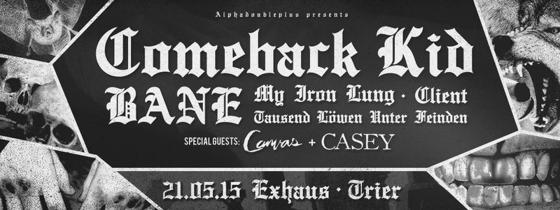 Comeback Kid + Bane Tour
