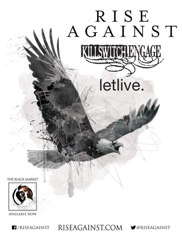 Rise Against - NATour 2015