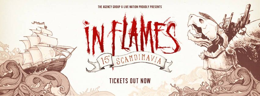 In Flames - Tour 2015