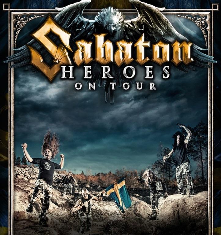 Sabaton European Tour