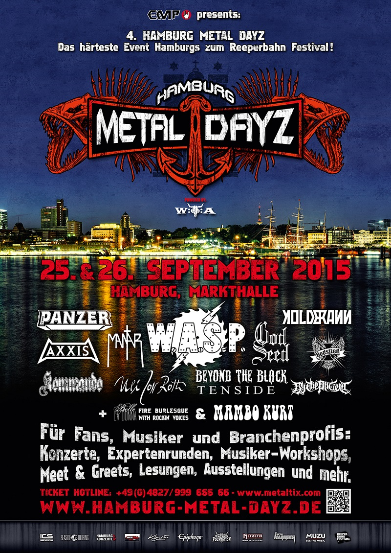 Hamburg Metal Dayz 2015