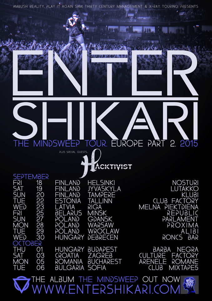 Enter Shikari - Tour 2015