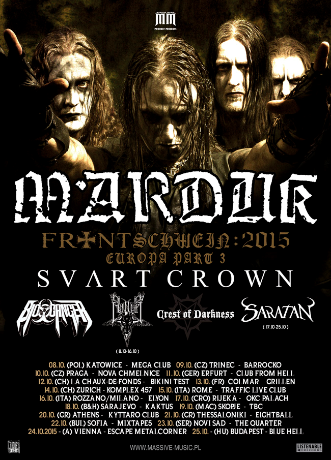 Marduk - European Tour 2015