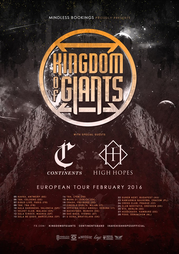 Kingdom Of Giants Tour 2016