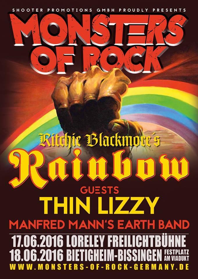 Monsters Of Rock 2016 - 17/06/2016 - Loreley - Rheinland