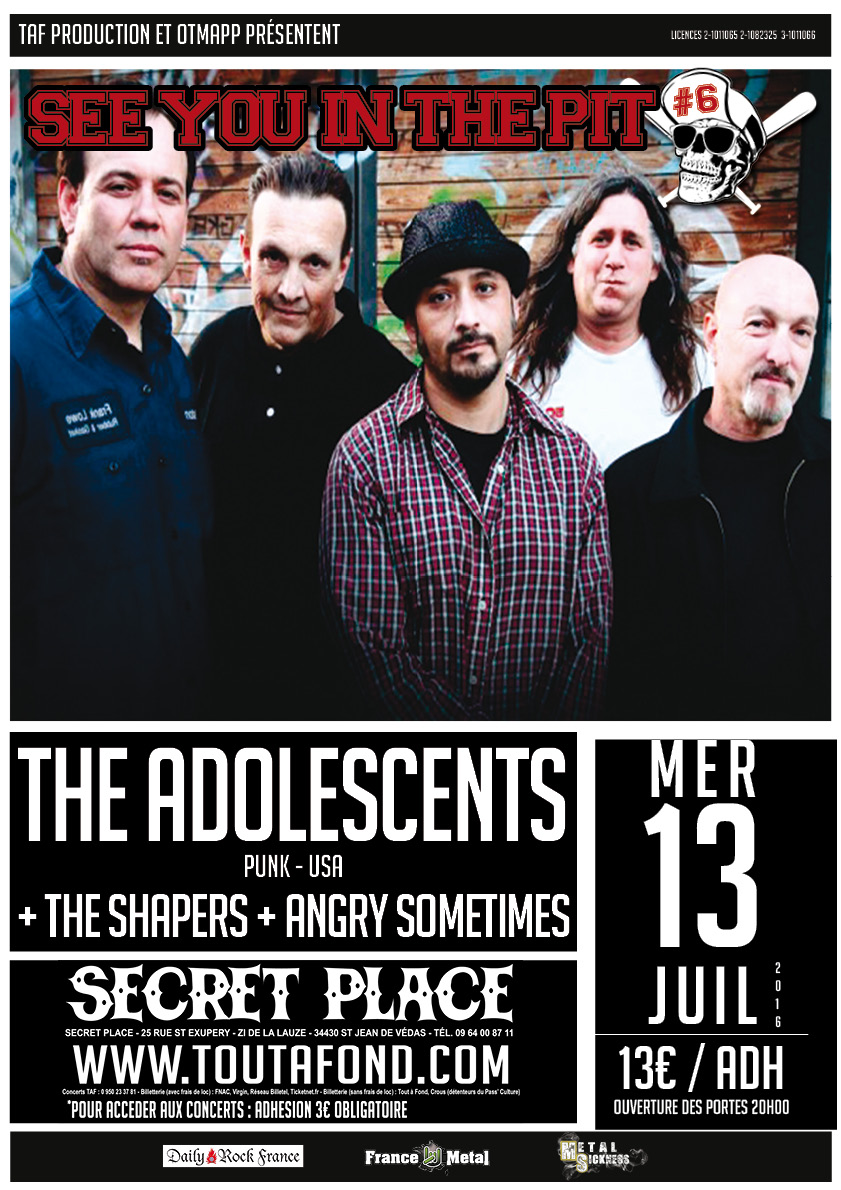 the Adolescents + the Shape