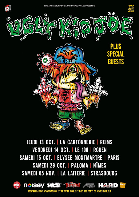 UGLY KID JOE [Paris - 75] > 15-10-2016