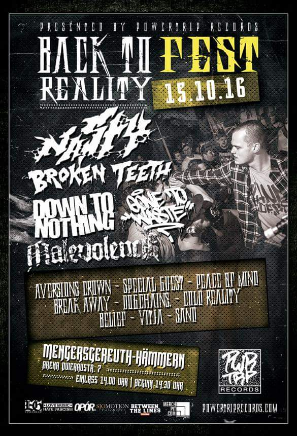 Back To Reality Fest 2016