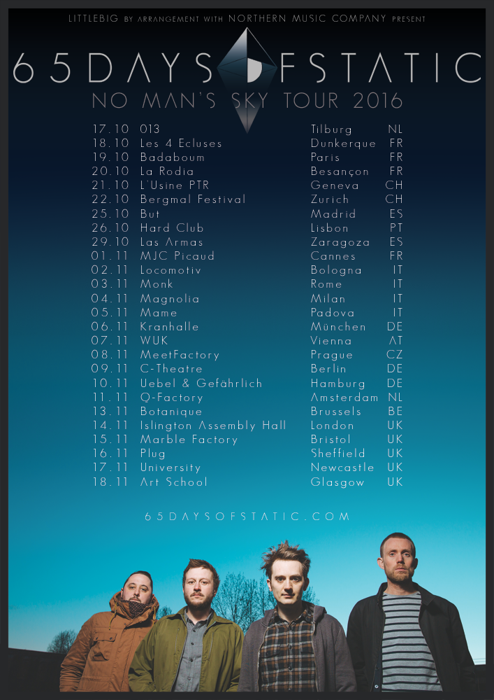 65daysofstatic - NMS Tour