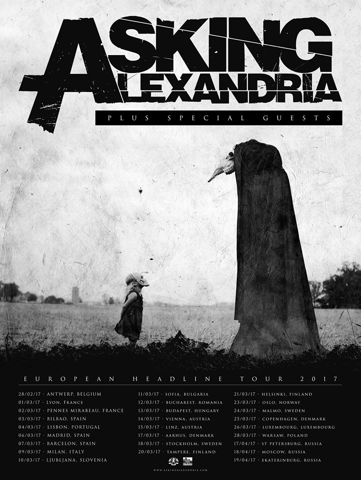 Asking Alexandria Tour 2017