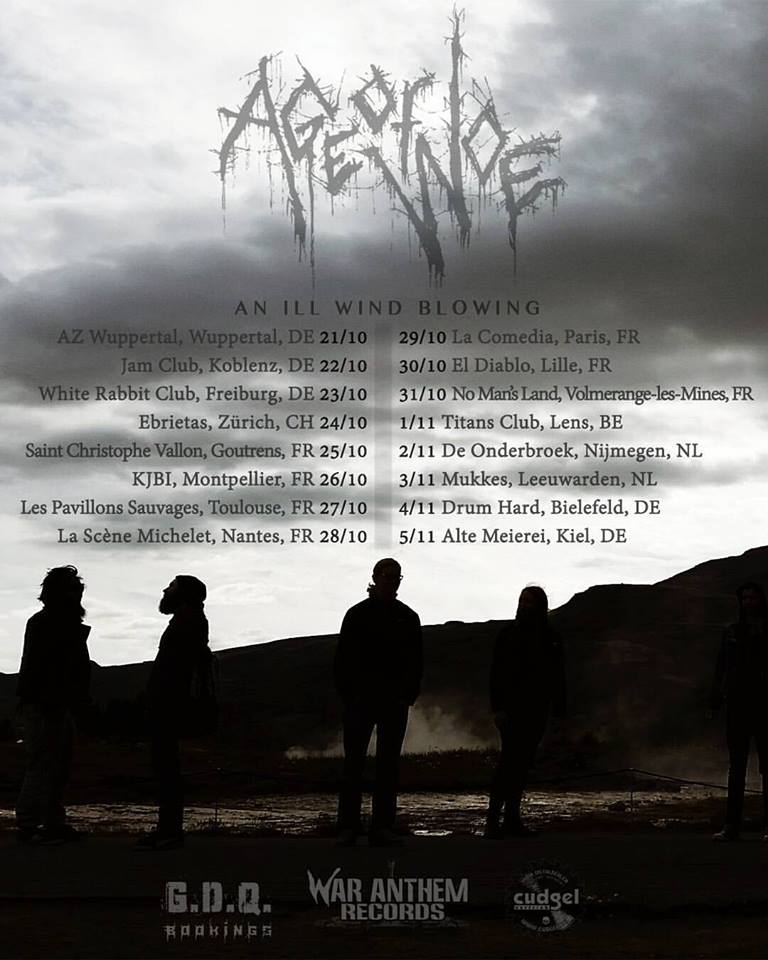 Age of Woe - Tour 2016