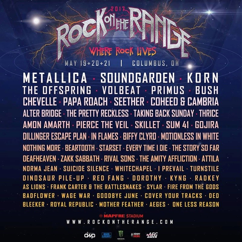 Rock On The Range 2017