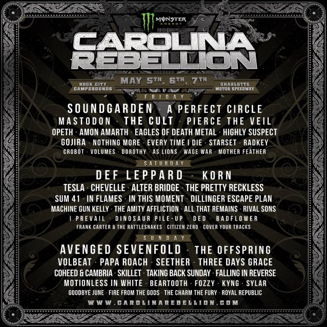 Carolina Rebellion 2017