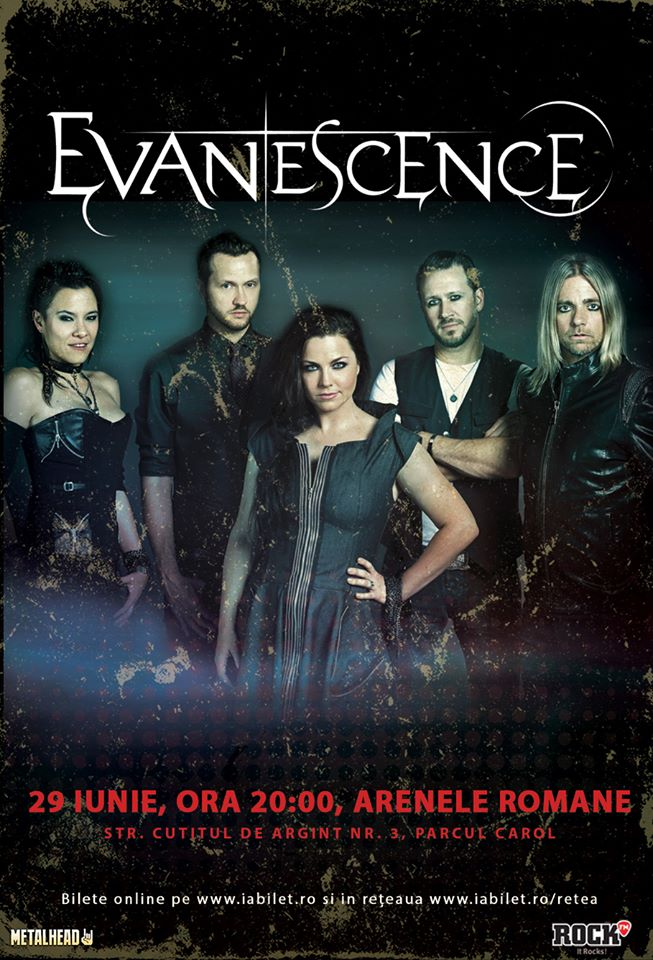 Evanescence - Tour 2017