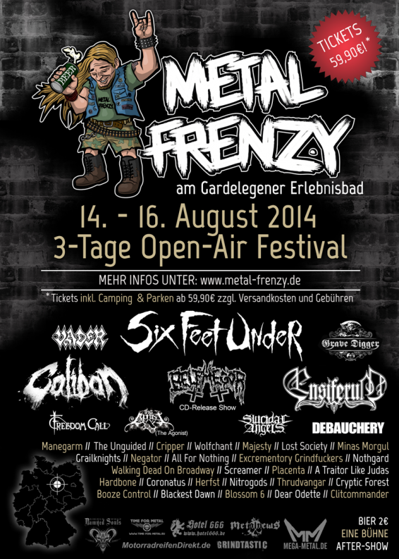 Metal Frenzy Open Air 2014