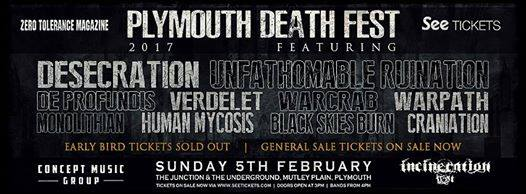 Plymouth Death Fest 2017