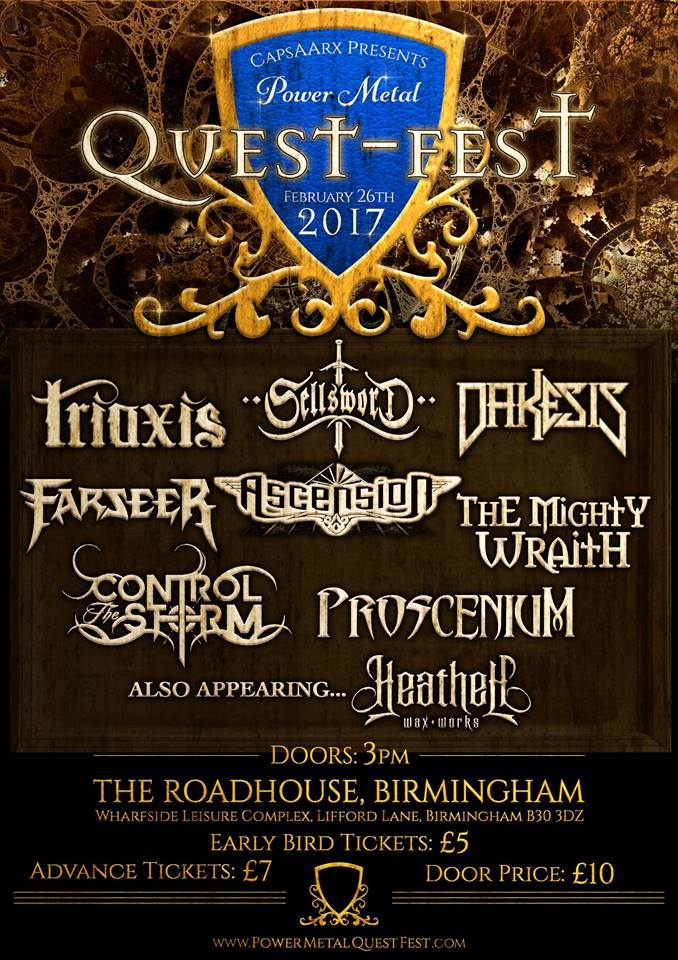 Power Metal Quest Fest 2017