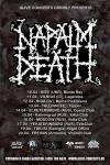 Napalm Death - Tour 2017