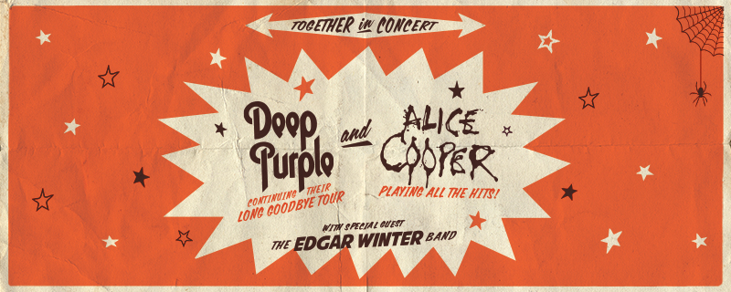 Deep Purple + Alice Cooper