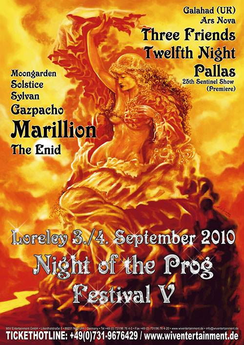 Night of the Prog Fest 2010