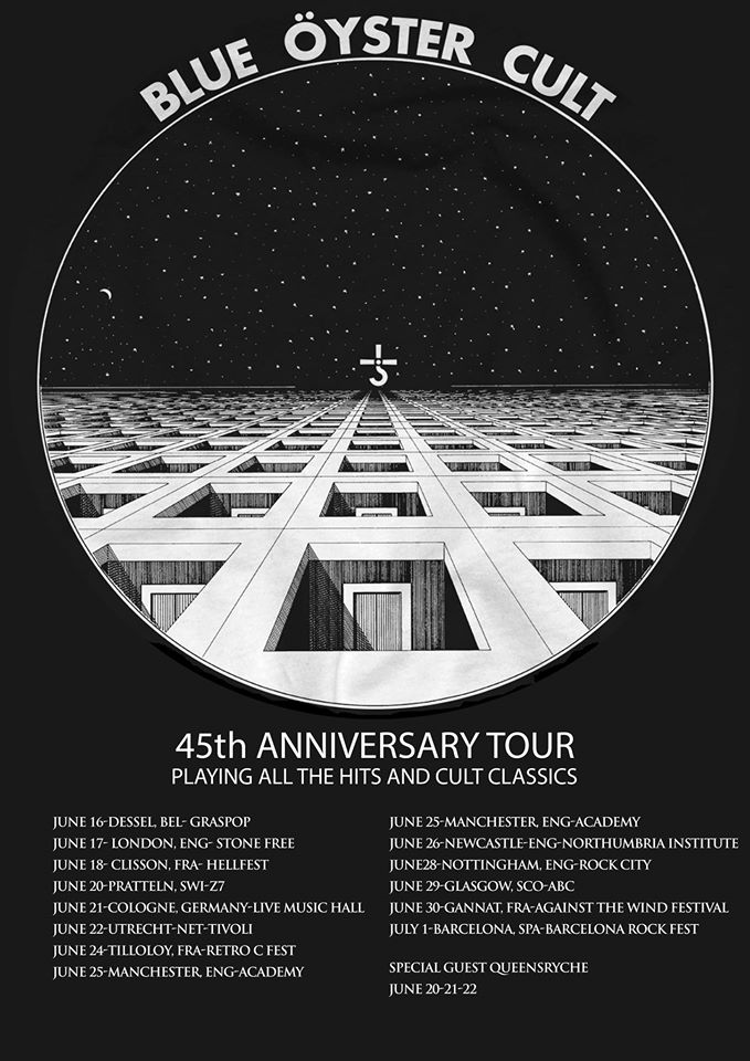 Blue Oyster Cult  Tour 2017