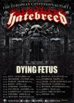 Hatebreed - Tour 2017