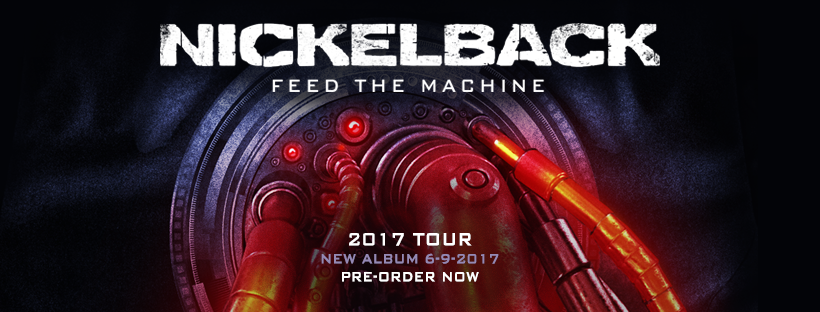 Nickelback - Tour 2017