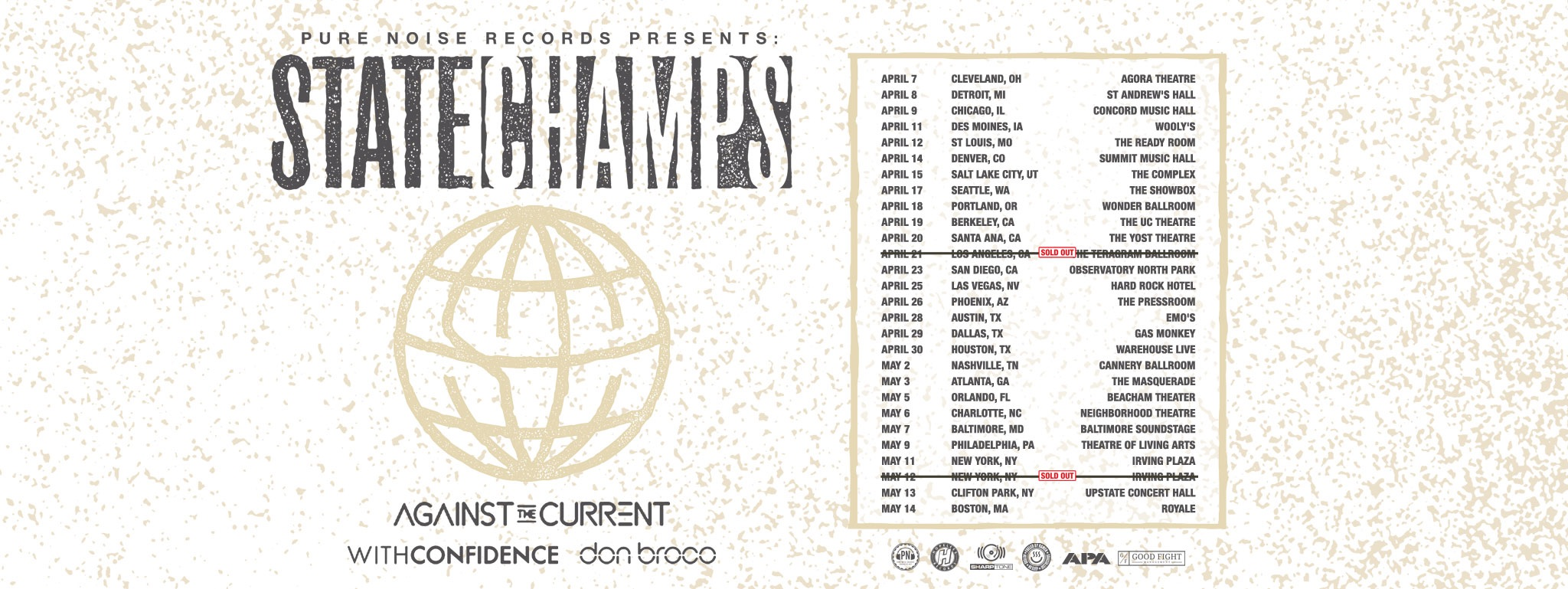 State Champs - Tour 2017