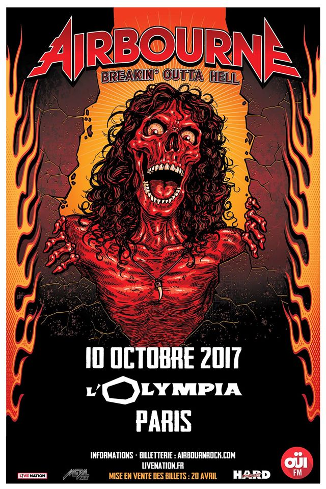 Airbourne - Tour 2017