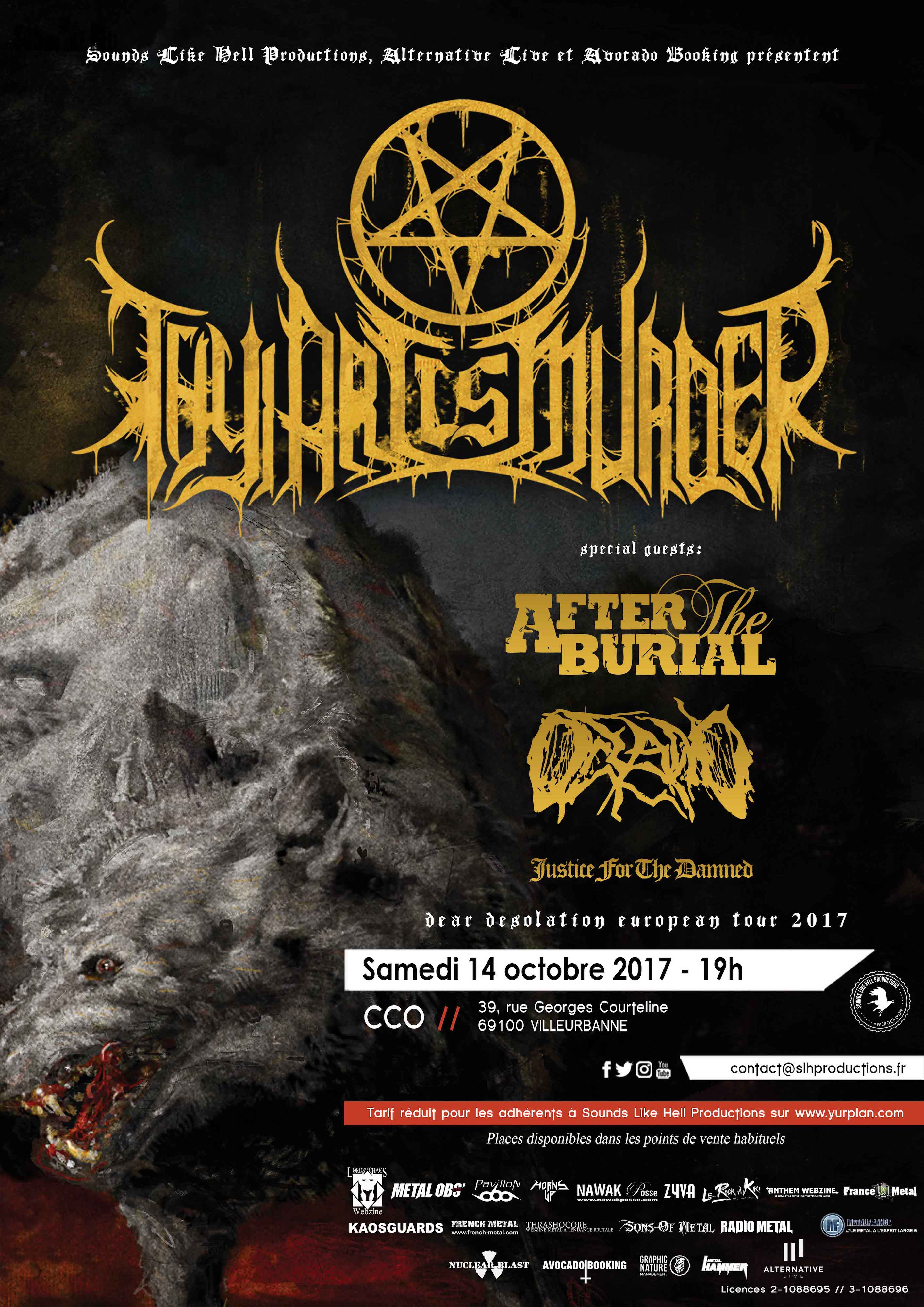 Thy Art Is Murder @ Lyon