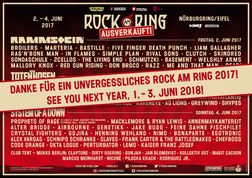 Rock am Ring / Rock im Park 2018 1496997011