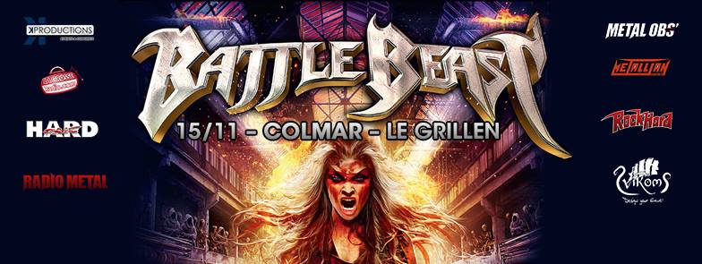 Battle Beast - Tour 2017